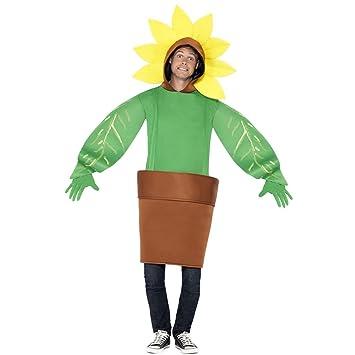 Sonnenblume Ganzkorperkostum Jumpsuit Blume Kostum Unisex Fasching