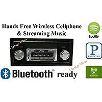 Bluetooth Enabled 1973-1979 Ford Truck USA-630 II High Power 300 watt AM FM Car Stereo/Radio