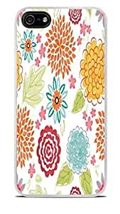 Blooms Bursts Flower White Hardshell For SamSung Galaxy S6 Phone Case Cover