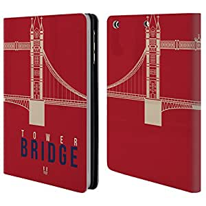 Head Case Designs Tower Bridge London Best Leather Book Wallet Case Cover For Apple iPad mini 1 / 2 / 3