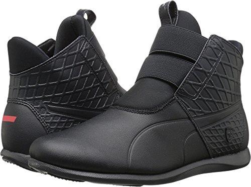 Puma Womens Ferrari (PUMA Women's SF Ankle Boot Sneaker, Moonless Night-Moonless Night-Moonless Night, 8 M US)