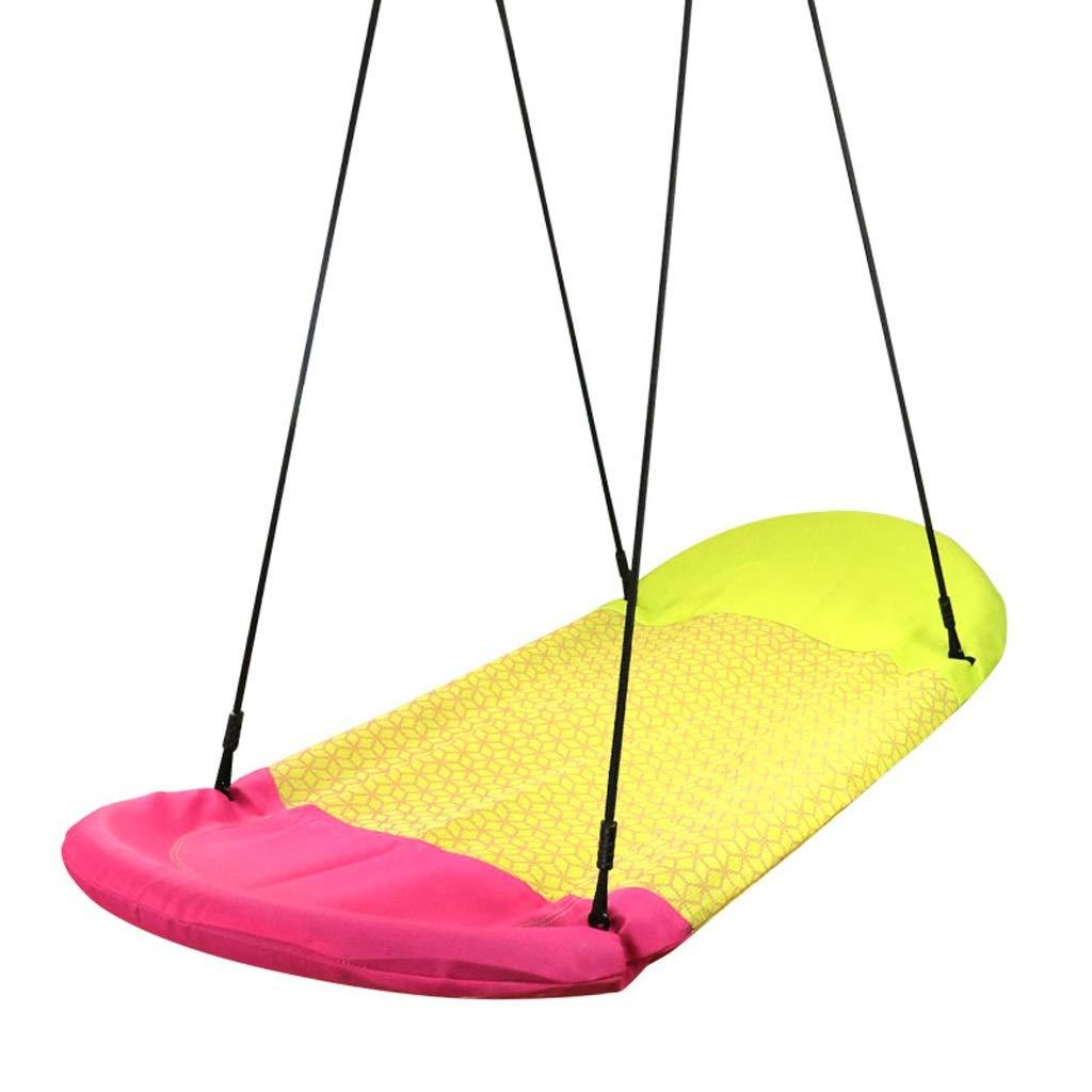 好評 子供のスイング屋内と屋外の大人のハンモック生地鳥の巣ボートの形スイングバルコニーチェアダブルスイング B07R8CMFPB (Color : Yellow) Yellow) (Color B07R8CMFPB Yellow, ポスターフレームアドテック支店:f741b096 --- a-school-a-park.ca