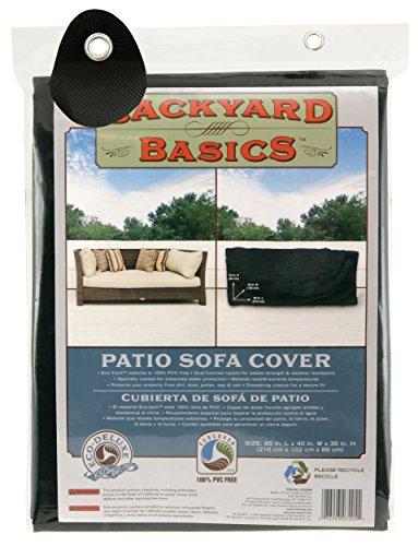 Backyard Basics Patio Sofa Cover, 85 x 40 x 35 Inch by Backyard Basics