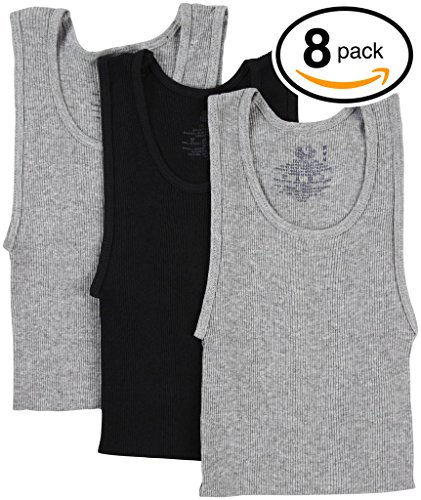 Amazon.com: Fruit of the Loom Boys A-Shirts Tank Top Undershirts: Clothing