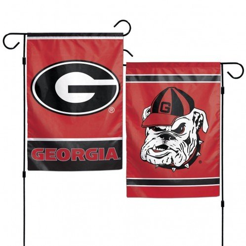 NCAA Georgia Bulldogs 12 x 18 inch 2-Sided Garden Flag -