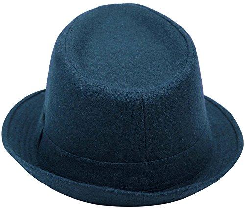 Men-Womens-Wool-Blend-Fedora-Hat