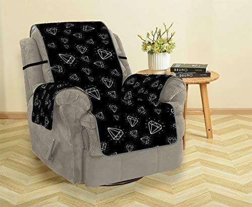 Rtosd Diamond Sparking Glimmering Sofa Chair Slipcover Cover Couch Sofa Sofa Covers For Living Room Furniture Protector For Pets Kids Cats Sofa