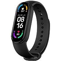 """Xiaomi Mi Band 6 pulseira inteligente esportiva, tela sensível ao toque de 1,56"""", monitor de frequência cardíaca fitness…"""