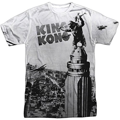Breaking Loose -- King Kong All-Over Front Print Sports Fabric T-Shirt