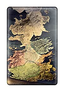 Great Cell-phone Hard Covers For Ipad Mini With Support Your Personal Customized Trendy Game Of Thrones Map Pattern CharlesPoirier