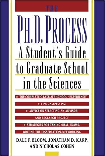 Amazon the phd process a students guide to graduate school amazon the phd process a students guide to graduate school in the sciences 9780195119008 dale f bloom jonathan d karp nicholas cohen books fandeluxe Choice Image