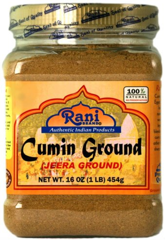 - Rani Cumin (Jeera) Powder Spice 16oz (454g) ~ All Natural | Vegan | Gluten Free Ingredients | NON-GMO | Indian Origin