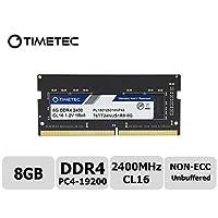 Timetec Hynix IC 8GB DDR4 2400MHz PC4-19200 Unbuffered Non-ECC 1.2V CL16 1Rx8 Single Rank 260 Pin SODIMM Laptop Notebook Computer Memory RAM Module Upgrade (8GB)