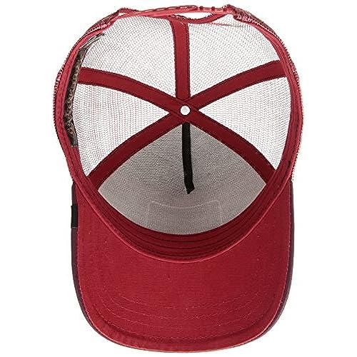 Gorra trucker roja y negra gallo Barnyard King de Goorin Bros. 30% de  descuento 593ab10e4ce