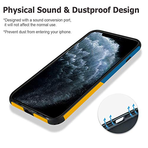 CUSTYPE Case for iPhone 11 Pro Max Case, iPhone 11 Pro Max Case Aesthetic Design Umbrella Soft Flexible TPU Shockproof Bumper Girls Women Protective Cover for iPhone 11 Pro Max 6.5''