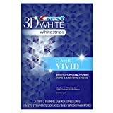 Crest 3D White Whitestrips Classic Vivid Teeth Whitening Kit, 12 Treatments - 24 Strips