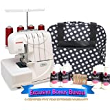 Janome 7933 Horizon Serger with Exclusive Bonus Bundle