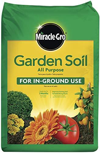 Miracle-Gro 75052430 All-Purpose Garden Soil, 2 CF (Black Gold Soil 2 Cubic Feet)