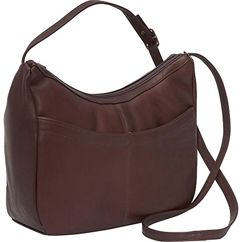 david-king-co-top-zip-hobo-1034-cafe-one-size