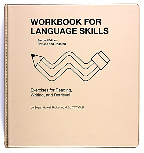 ALIMED 80191 Workbook For Language Skills by AliMed