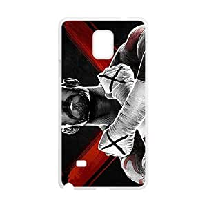 Happy WWE World Wrestling Entertainment CM Punk White Phone Case for Samsung Galaxy Note4