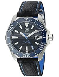 TAG Heuer Men's WAY211B.FC6363 Aquaracer Analog Display Swiss Automatic Black Watch