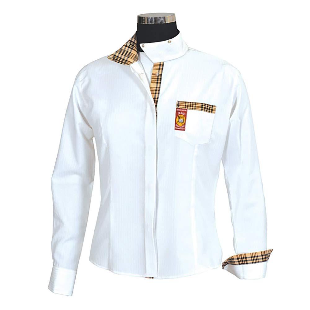 ラウンド  Baker by Equine ホワイト Couture 's Women 's Elite Equine Competitionシャツ B008OLSL9O 32|ホワイト ホワイト 32, ブランド洋食器の店ルノーブル:f8b8b5c4 --- svecha37.ru