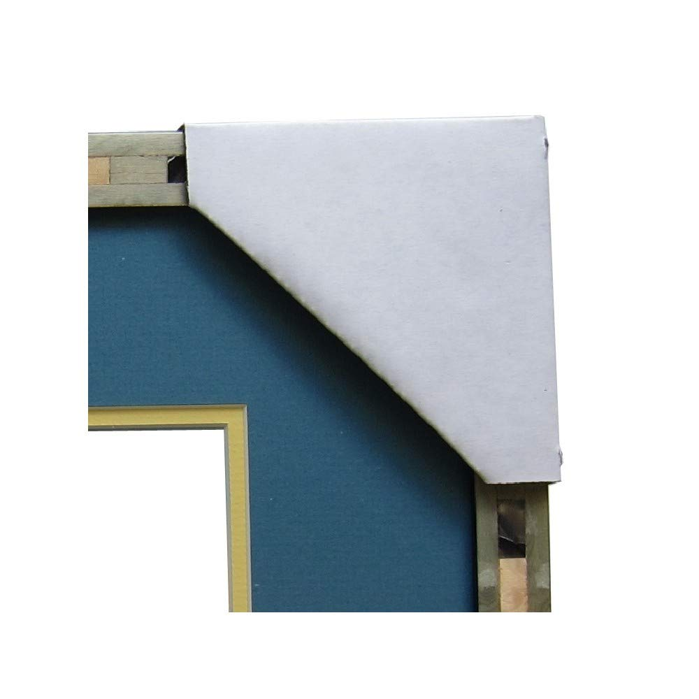 Frame Corner Protector | Cardboard Corner Protectors | Adjustable Picture Frame Corner Protectors for Shipping, Packing or Moving Art - 120 Cardboard Corners Picture Hang Solutions