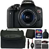 Canon EOS Rebel T6i DSLR Camera with 18-55mm Lens and Accessory Kit