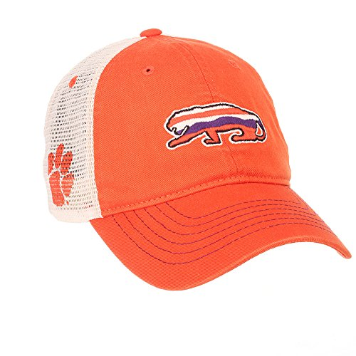 Clemson Tigers Hat (Clemson Tigers Trucker Hat - Orange)