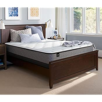 Sealy Response Essentials 10-Inch Firm Tight Top Mattress, Queen, Made in USA, 5 Year Warranty