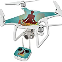 Skin For DJI Phantom 4 Quadcopter Drone – Namaste | MightySkins Protective, Durable, and Unique Vinyl Decal wrap cover | Easy To Apply, Remove, and Change Styles | Made in the USA