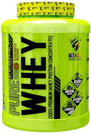 3XL Nutrition Pure Whey - 2 kg Exquisite Brownie
