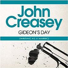 Gideon's Day: Gideon of Scotland Yard Audiobook by John Creasey (JJ Marric) Narrated by Tim Bentinck