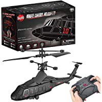 YongnKids 3.5 Channel Remote Control Helicopter RC Army Heli Toy with Gyro & Led for Kids Boys Girls Adults Indoor