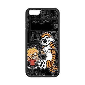 "Creative Calvin and Hobbes Inspiration Design Solid Rubber Customized Cover Case for iPhone 6 4.7"" iphone6-linda310"