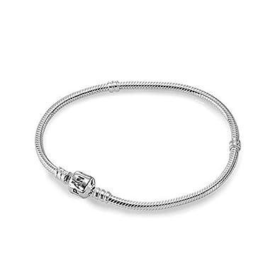 mejor autentico b1f35 5549f Pandora 59702-16HV - Pulsera de mujer de plata de ley, 16 cm