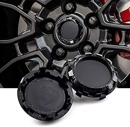 //76mm Wheel Center Caps Self Made Gear Style Black 4pcs for #88963143#9595891 Avalanche Silverado Tahoe 2007-2013 2005-2013 2.99in Sierra Yukon Denali steel.frame.motor 83mm Replacement 3.27in
