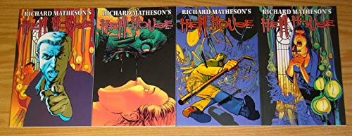 (Richard Matheson's Hell House #1-4 VF to VF/NM complete comic book series ; IDW)