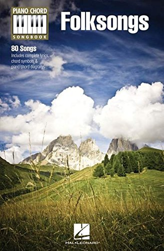 Folksongs (Piano Chord Songbooks)