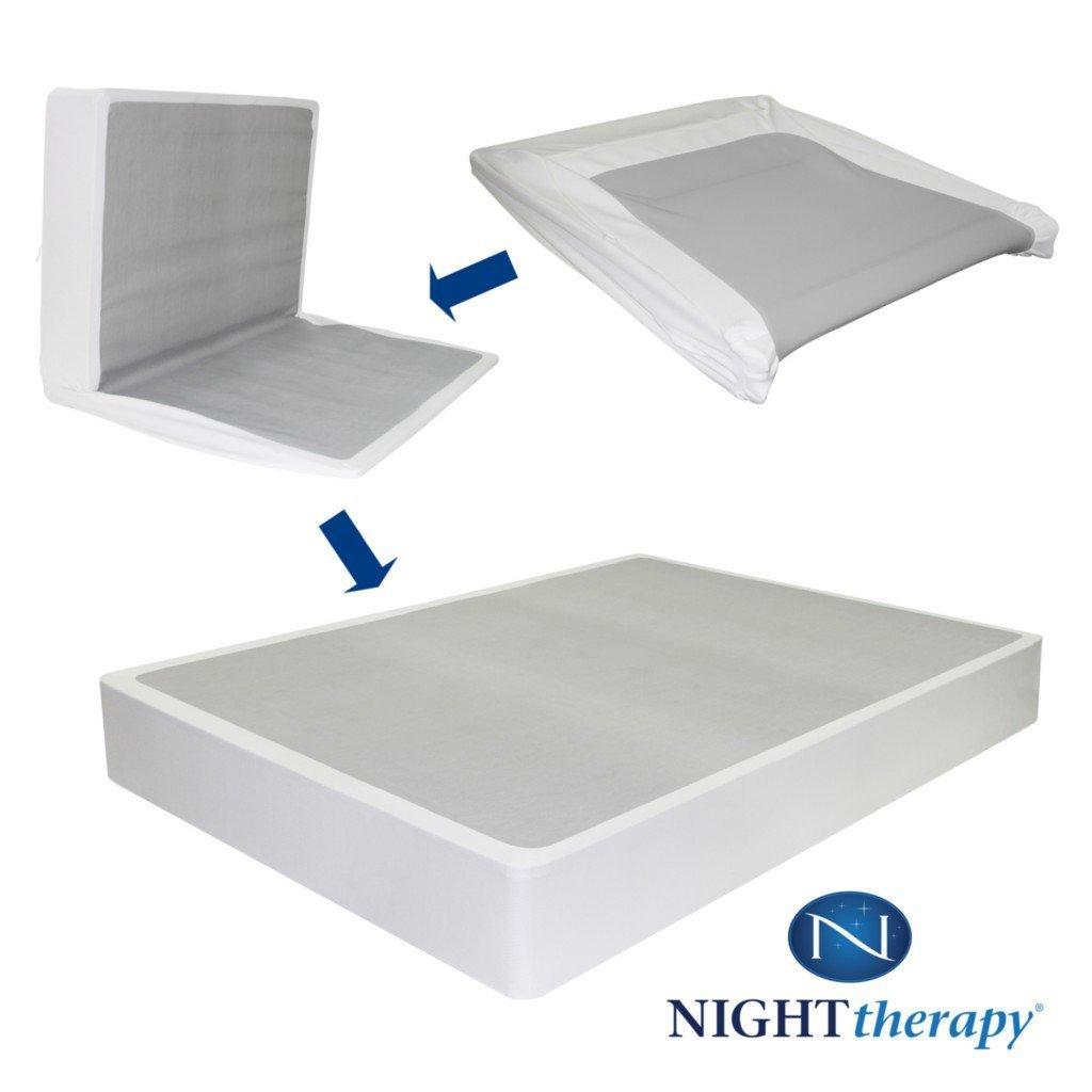 Amazoncom Night Therapy 9 Inch High Profile Bi Fold Box Spring