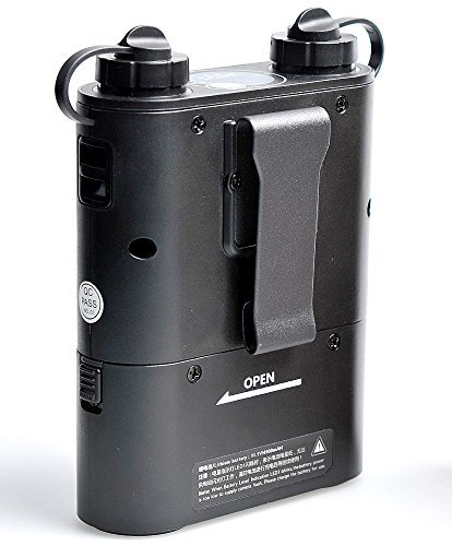 Godox Propac PB960 Flash Power Battery Pack - External 4500mAh for Canon 580EX II, 580EX, 550EX, Nikon SB-900 SB-800 SB-80DX, SONY HVL-F58AM HVL-F43AM, Metz Flash, Godox Wistro - Black by Godox