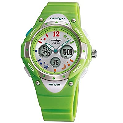 PASNEW Girls Watch Waterproof Digital Display Sports Casual Wrist Watches Age 8-18 by PASNEW