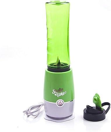 Extractor de jugos, máquina para hacer jugo de frutas, verduras, licuadora, mini licuadora eléctrica portátil multifunción: Amazon.es: Hogar