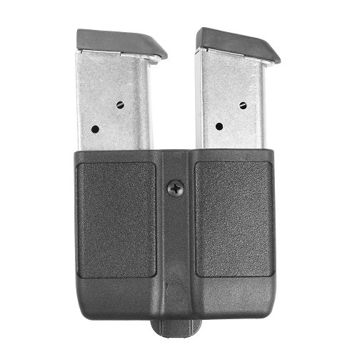 BLACKHAWK! Single Stack Double Mag Case ( fits most 9mm/.40 Cal mags) , Matte (1911 Mag Pouch)