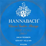 Hannabach Strings for classic guitar Series 825 High tension specialized gold plated A/5 single string