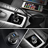 CHOETECH USB C Car Charger, 36W 2-Port Fast Car