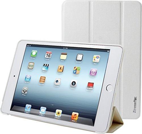 (XtremeMac iPad Mini 4 Compatible Multi-Angle Stand Protection case with auto Wake/Sleep Function White MICROFOLIO-White IPDM-MF4-03)