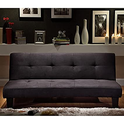 Microfiber Suede Mini Sofa Bed