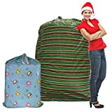 Set of 2 Giant Gift Bags Jumbo Christmas Sacks For Extra Large Presents Bikes Assorted Sizes For Sale